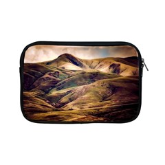 Iceland Mountains Sky Clouds Apple Ipad Mini Zipper Cases by BangZart