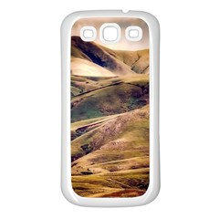 Iceland Mountains Sky Clouds Samsung Galaxy S3 Back Case (white)