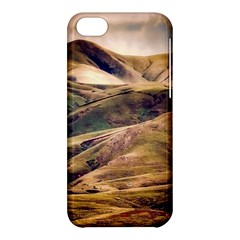 Iceland Mountains Sky Clouds Apple Iphone 5c Hardshell Case by BangZart