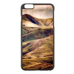 Iceland Mountains Sky Clouds Apple Iphone 6 Plus/6s Plus Black Enamel Case by BangZart