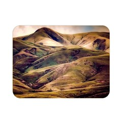 Iceland Mountains Sky Clouds Double Sided Flano Blanket (mini)