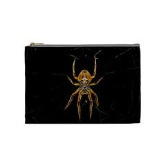 Insect Macro Spider Colombia Cosmetic Bag (medium)
