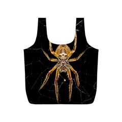 Insect Macro Spider Colombia Full Print Recycle Bags (s)  by BangZart