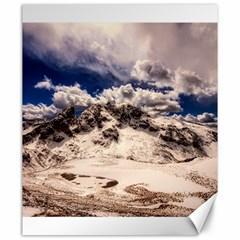 Italy Landscape Mountains Winter Canvas 20  X 24   by BangZart