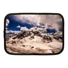 Italy Landscape Mountains Winter Netbook Case (medium)  by BangZart