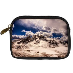 Italy Landscape Mountains Winter Digital Camera Cases by BangZart