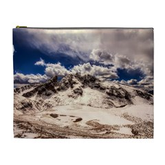 Italy Landscape Mountains Winter Cosmetic Bag (xl)