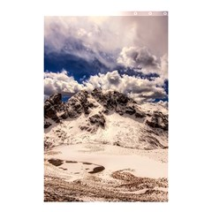 Italy Landscape Mountains Winter Shower Curtain 48  X 72  (small)  by BangZart