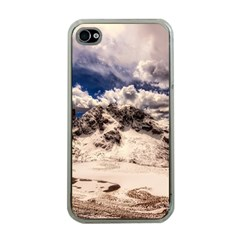 Italy Landscape Mountains Winter Apple Iphone 4 Case (clear)