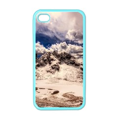 Italy Landscape Mountains Winter Apple Iphone 4 Case (color) by BangZart