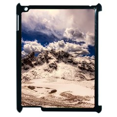 Italy Landscape Mountains Winter Apple Ipad 2 Case (black)