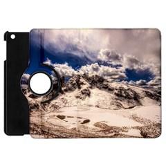 Italy Landscape Mountains Winter Apple Ipad Mini Flip 360 Case