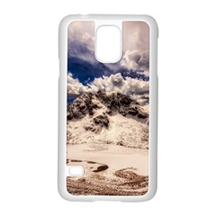 Italy Landscape Mountains Winter Samsung Galaxy S5 Case (white) by BangZart