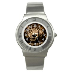 Jaguar Water Stalking Eyes Stainless Steel Watch