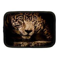 Jaguar Water Stalking Eyes Netbook Case (medium)