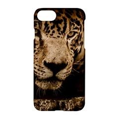 Jaguar Water Stalking Eyes Apple Iphone 7 Hardshell Case