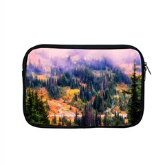 Landscape Fog Mist Haze Forest Apple Macbook Pro 15  Zipper Case