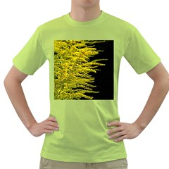 Golden Rod Gold Diamond Green T Shirt