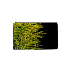 Golden Rod Gold Diamond Cosmetic Bag (small)  by BangZart