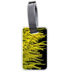 Golden Rod Gold Diamond Luggage Tags (one Side)  by BangZart