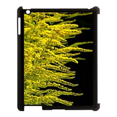 Golden Rod Gold Diamond Apple Ipad 3/4 Case (black)