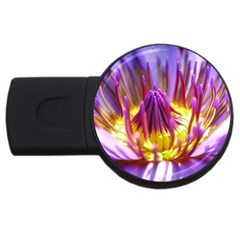 Flower Blossom Bloom Nature Usb Flash Drive Round (4 Gb)