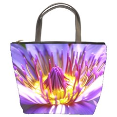 Flower Blossom Bloom Nature Bucket Bags by BangZart