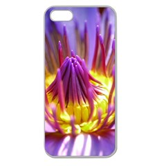 Flower Blossom Bloom Nature Apple Seamless Iphone 5 Case (clear)