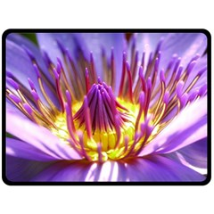 Flower Blossom Bloom Nature Double Sided Fleece Blanket (large)  by BangZart