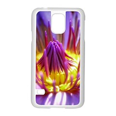 Flower Blossom Bloom Nature Samsung Galaxy S5 Case (white) by BangZart