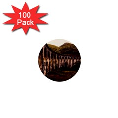 Viaduct Structure Landmark Historic 1  Mini Buttons (100 Pack)