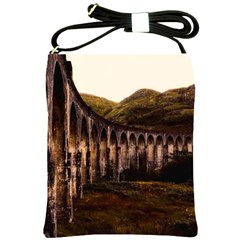 Viaduct Structure Landmark Historic Shoulder Sling Bags by BangZart