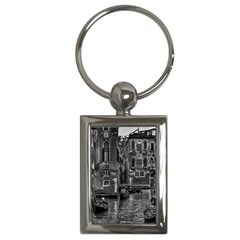 Venice Italy Gondola Boat Canal Key Chains (rectangle)