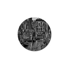 Venice Italy Gondola Boat Canal Golf Ball Marker (10 Pack)