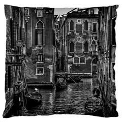 Venice Italy Gondola Boat Canal Standard Flano Cushion Case (two Sides)