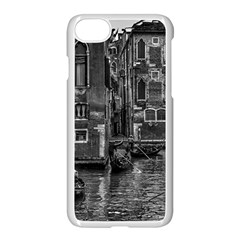 Venice Italy Gondola Boat Canal Apple Iphone 7 Seamless Case (white)