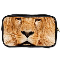 Africa African Animal Cat Close Up Toiletries Bags