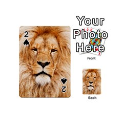 Africa African Animal Cat Close Up Playing Cards 54 (mini)