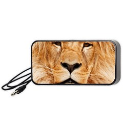 Africa African Animal Cat Close Up Portable Speaker