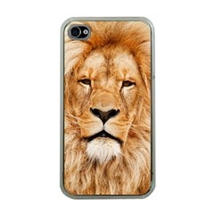 Africa African Animal Cat Close Up Apple Iphone 4 Case (clear)
