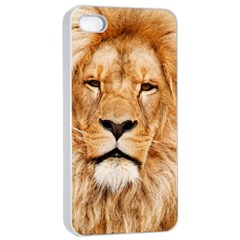 Africa African Animal Cat Close Up Apple Iphone 4/4s Seamless Case (white)
