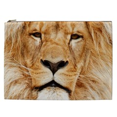 Africa African Animal Cat Close Up Cosmetic Bag (xxl)