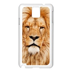 Africa African Animal Cat Close Up Samsung Galaxy Note 3 N9005 Case (white)