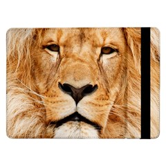 Africa African Animal Cat Close Up Samsung Galaxy Tab Pro 12 2  Flip Case