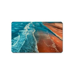 Sea Ocean Coastline Coast Sky Magnet (name Card)