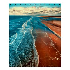 Sea Ocean Coastline Coast Sky Shower Curtain 60  X 72  (medium)  by BangZart