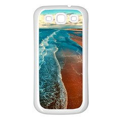 Sea Ocean Coastline Coast Sky Samsung Galaxy S3 Back Case (white)