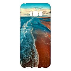 Sea Ocean Coastline Coast Sky Samsung Galaxy S8 Plus Hardshell Case