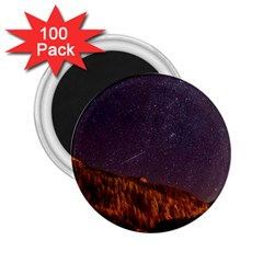 Italy Cabin Stars Milky Way Night 2 25  Magnets (100 Pack)