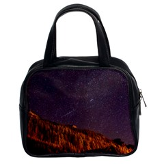 Italy Cabin Stars Milky Way Night Classic Handbags (2 Sides)